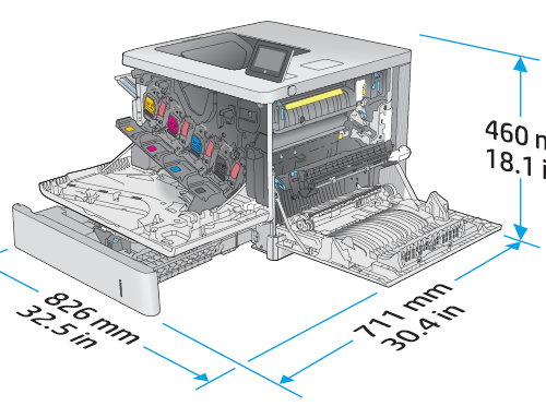 Impresora HP E55040dw