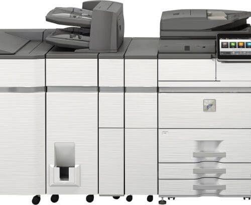 impresora sharp mx m7570n